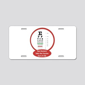 Vision Aluminum License Plate