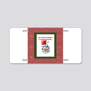 Dental Holidays Aluminum License Plate