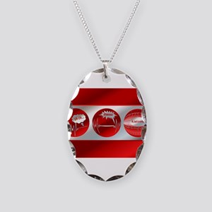 Bad to Good Necklace Oval Charm