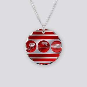 Bad to Good Necklace Circle Charm