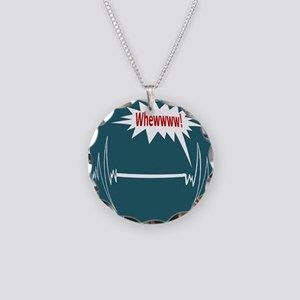 Survived Necklace Circle Charm