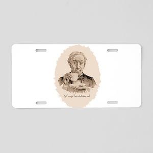 Great Tea Fr. Aluminum License Plate