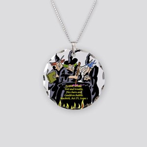 Macbeth1 Necklace Circle Charm