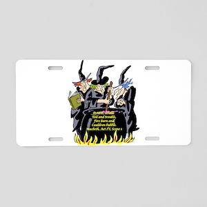 Macbeth1 Aluminum License Plate