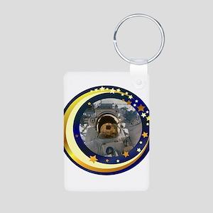 Shuttle Orbit Aluminum Photo Keychain