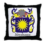 Abrahams Coat of Arms Throw Pillow