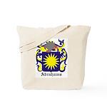 Abrahams Coat of Arms Tote Bag