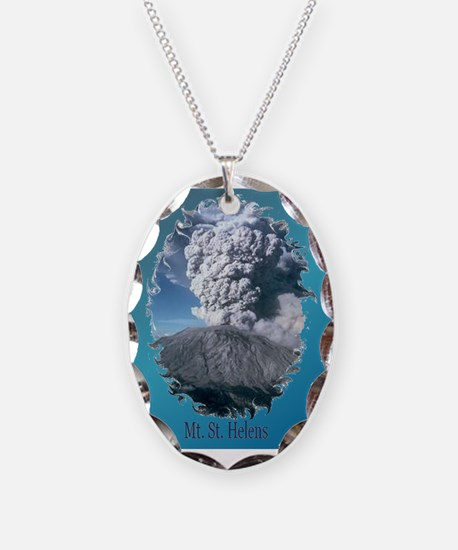 Mt. St. Helens Necklace
