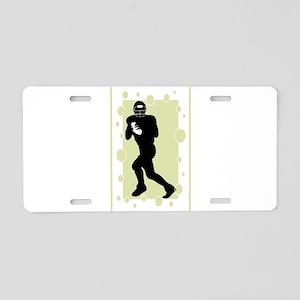 Quarterback Aluminum License Plate