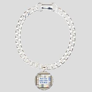 Book vs. Movie Charm Bracelet, One Charm