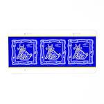 BlueCat Aluminum License Plate