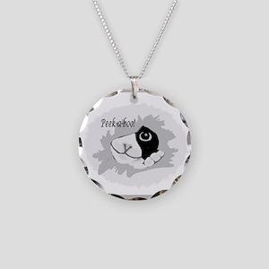 Peek-a-Boo Necklace Circle Charm