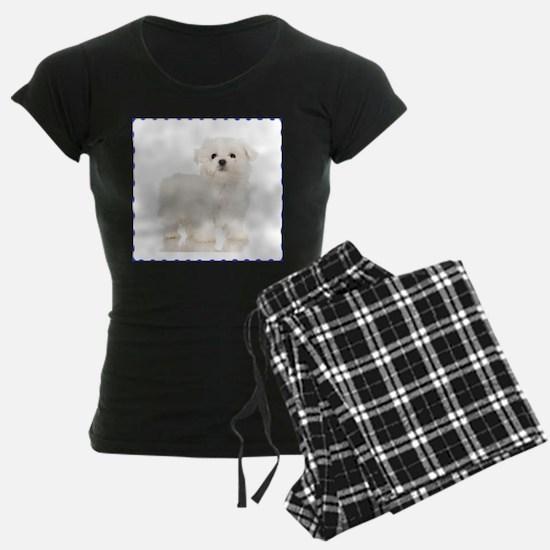 Maltese Puppy Pajamas