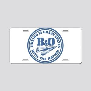 Baltimore and Ohio 13 state Aluminum License Plate