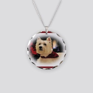 Humphrey 2 Tri Necklace Circle Charm