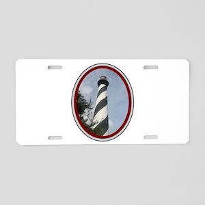 St. Augustine Aluminum License Plate