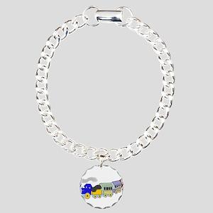 Choo Choo Train Charm Bracelet, One Charm