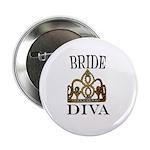 """BRIDE DIVA 2.25"""" Button"""