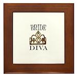 BRIDE DIVA Framed Tile