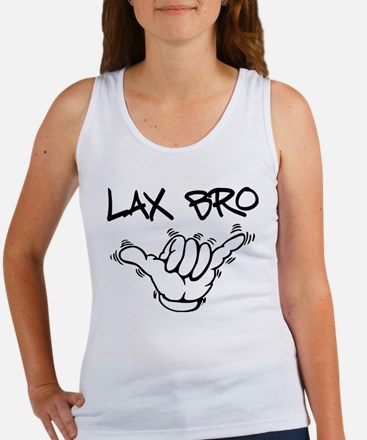 Hang Loose Lax Bro Women's Tank Top
