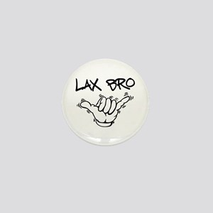 Hang Loose Lax Bro Mini Button