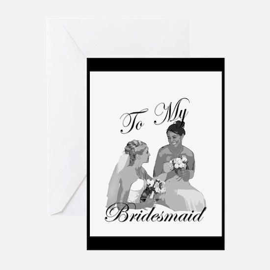 Bridesmaid DIVA Gift Greeting Cards (Pk of 10)