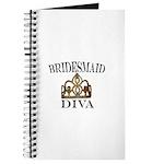 Bridesmaid DIVA Gift Journal