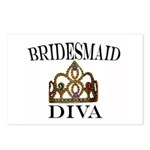Bridesmaid DIVA Gift Postcards (Package of 8)