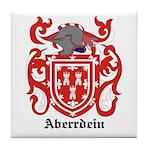 Aberrdein Coat of Arms Tile Coaster