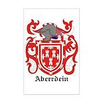 Aberrdein Coat of Arms Mini Poster Print