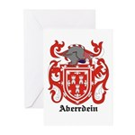 Aberrdein Coat of Arms Greeting Cards (Package of