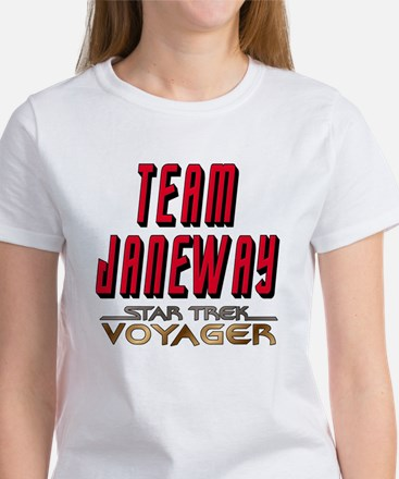 Team Janeway Star Trek Voyager Women's T-Shirt