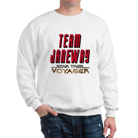 Team Janeway Star Trek Voyager Sweatshirt