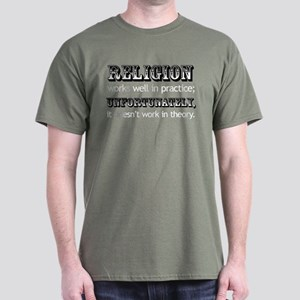 Religion in Theory Dark T-Shirt