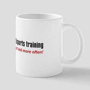 """Balance Training"" Mug"