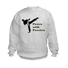 Power with Passion Kids Sweatshirt