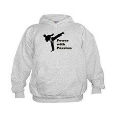 Power with Passion Kids Hoodie