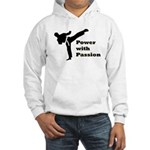 Power with Passion Hooded Sweatshirt