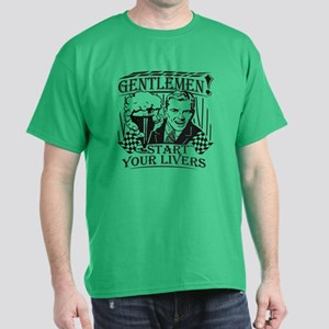 Party Guy Start Your Livers Dark T-Shirt