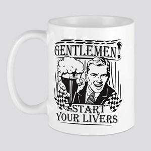 Party Guy Start Your Livers Mug