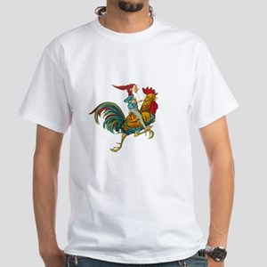 Vintage GNOME White T-Shirt
