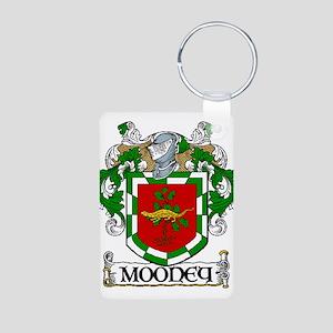 Mooney Coat of Arms Aluminum Photo Keychain