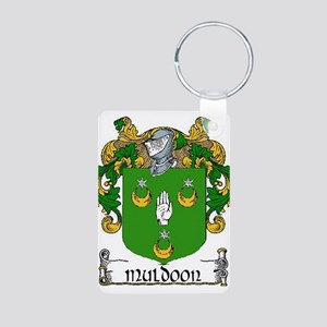 Muldoon Coat of Arms Aluminum Photo Keychain