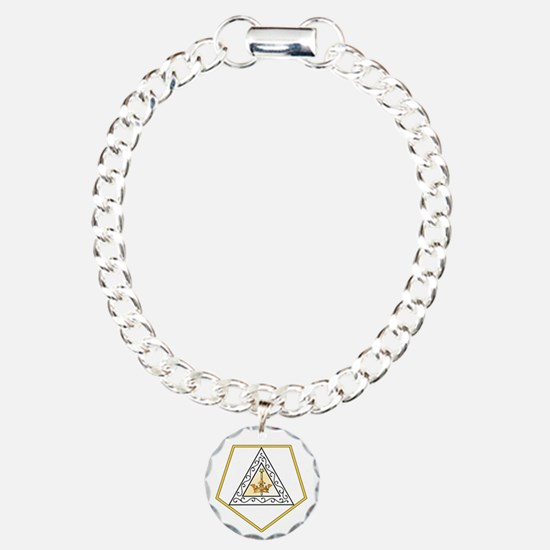 Grand Esther Charm Bracelet, One Charm