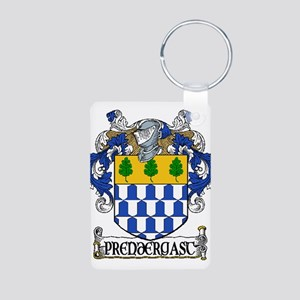 Prendergast Coat of Arms Aluminum Photo Keychain