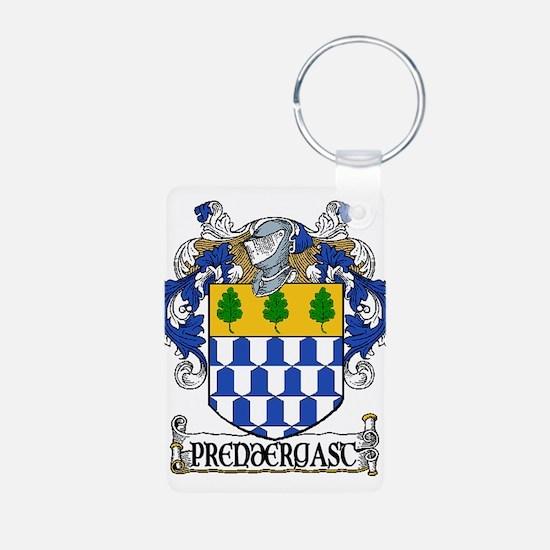 Prendergast Coat of Arms Aluminum Photo Keychain