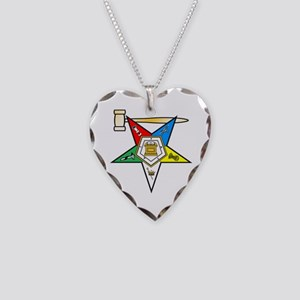 Past Matron Necklace Heart Charm