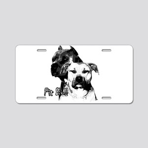 Two tone bully design Aluminum License Plate
