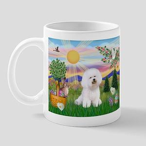 Easter Bichon Frise Mug
