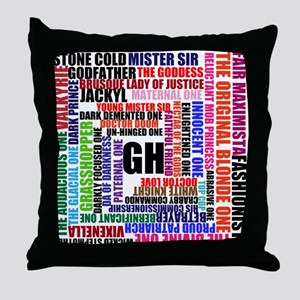 SPINELLI Throw Pillow GENERAL HOSPITAL